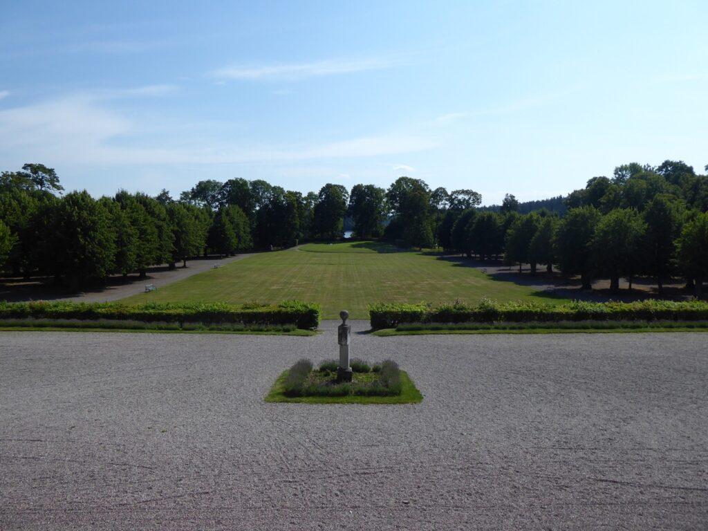 Otroligt vacker i parken!