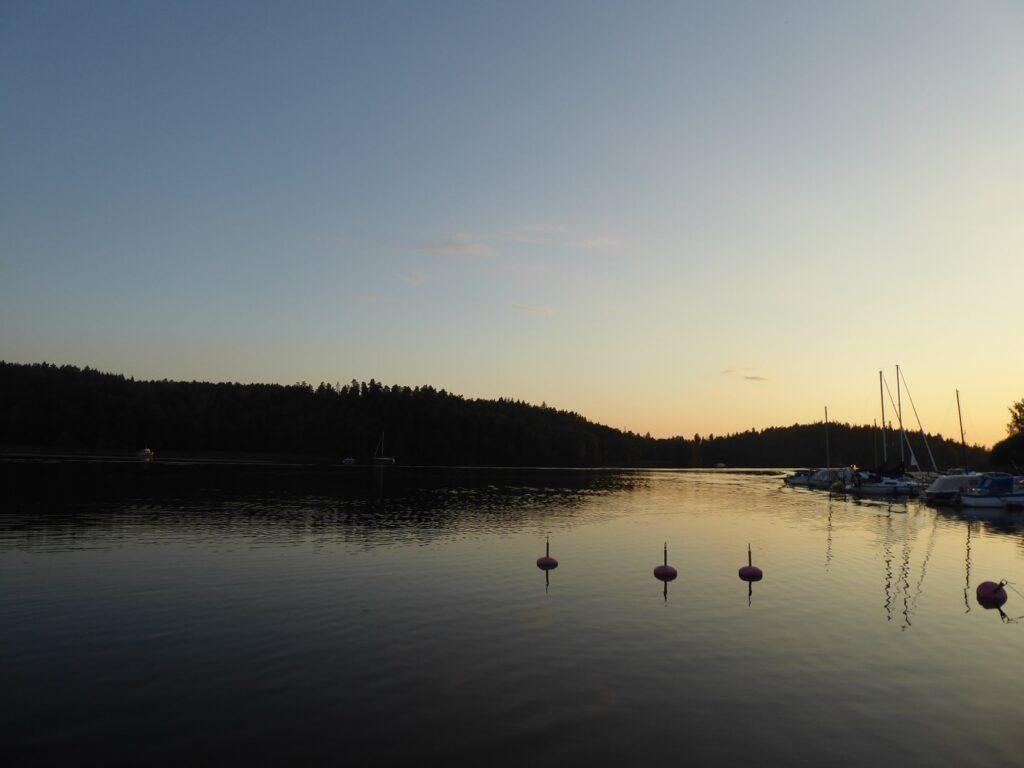 Underbara kvällar till havs!