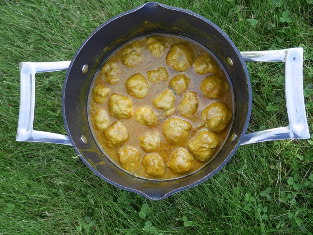 Kyckling och curry är som hand i handsken.
