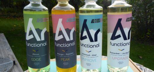 Hållbara och funktionella drycker lokalt producerade i Sverige