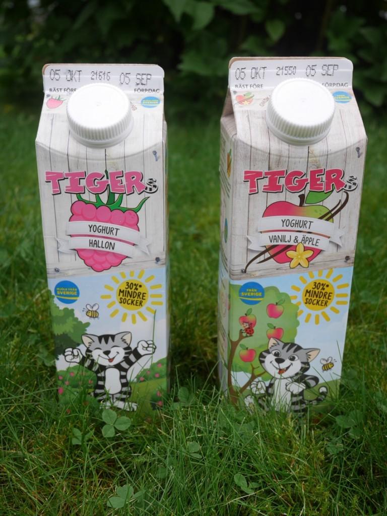 Tigers finns nu i smakerna Hallon, Päron, Jordgubb samt Vanilj/Äpple.