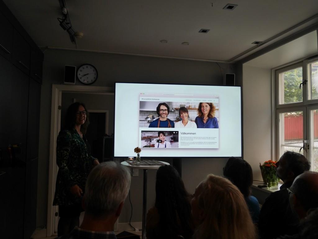 Startsidan på Köksskolan.se