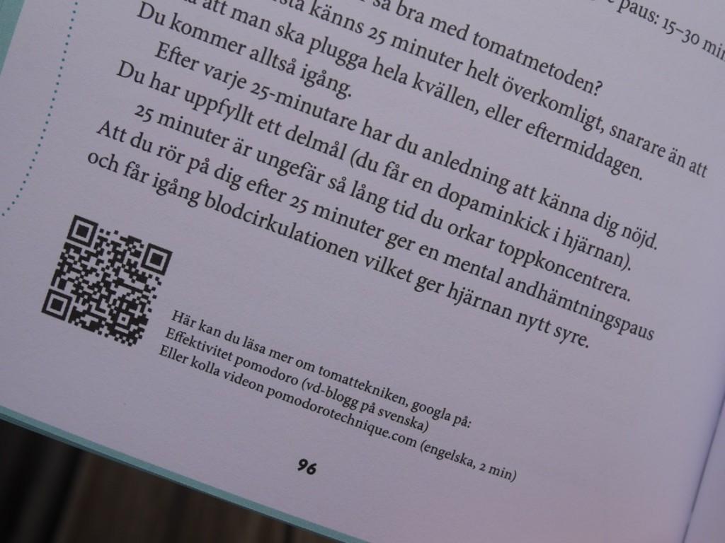 QR-koder för de som vill läsa vidare och fördjupa sig i ämnet.