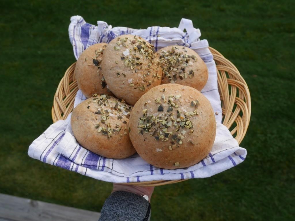 Jag älskar bröd och nybakat är såklart godast!