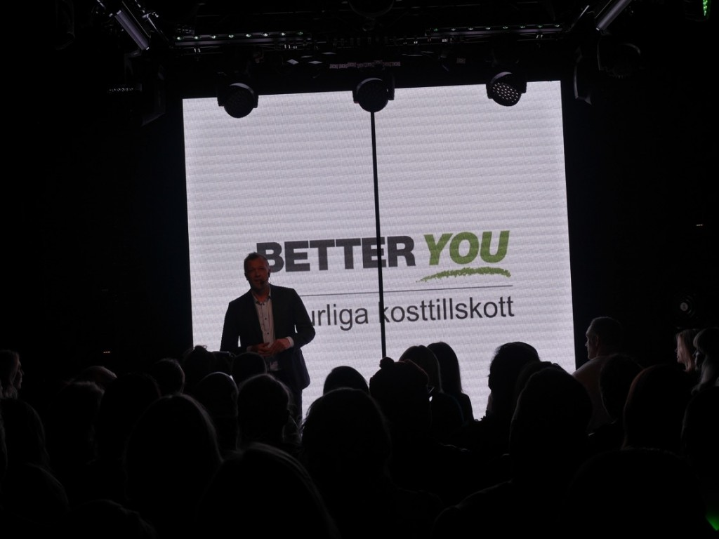 Magnus Hedman presenterar Better You.