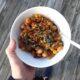 Mustig köttfärsgryta med bönor och kikärtor