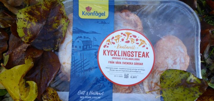 KycklingSteak Kantarell