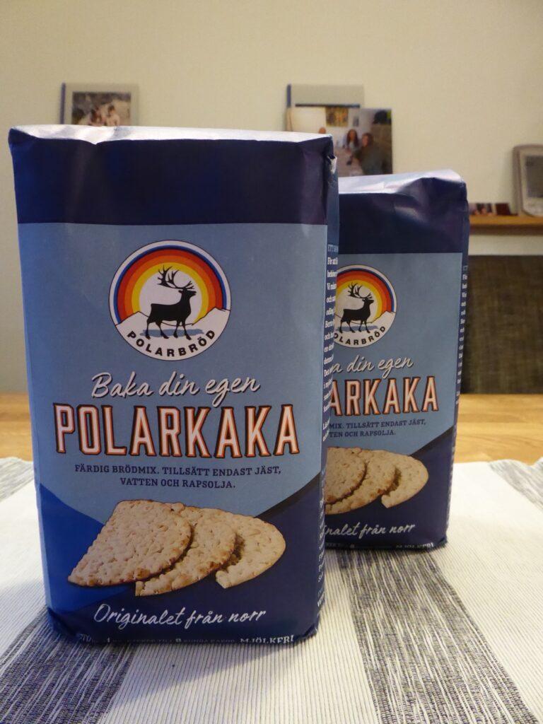 Polarkaka som brödmix