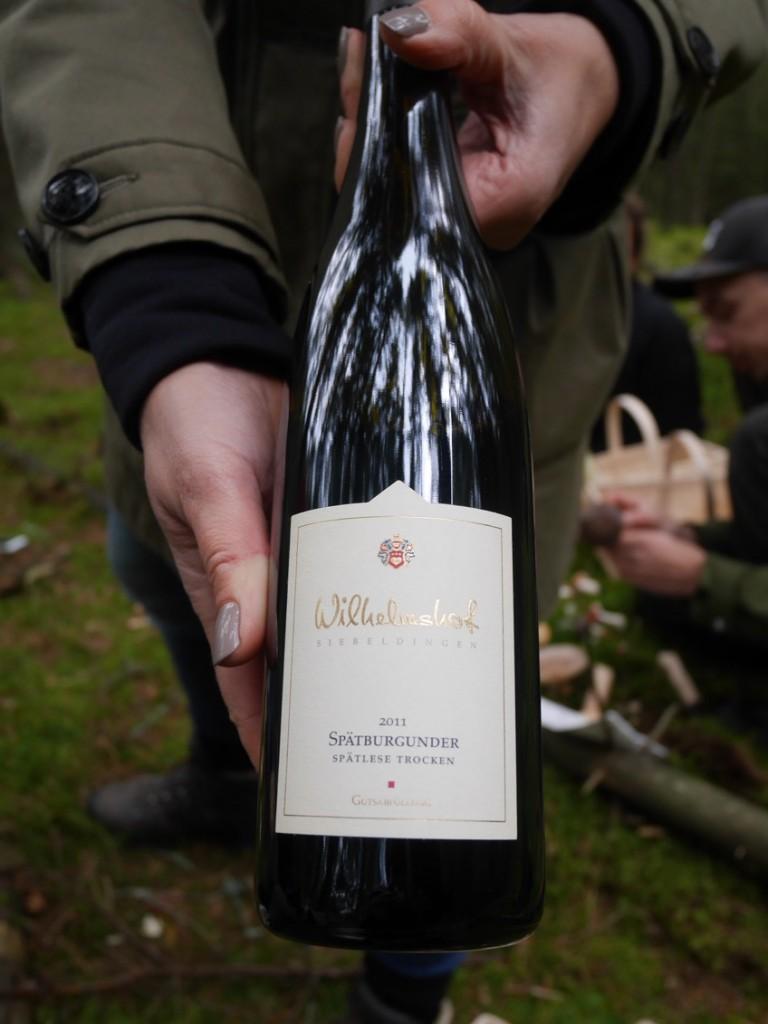 Gott med tyskt rött vin!