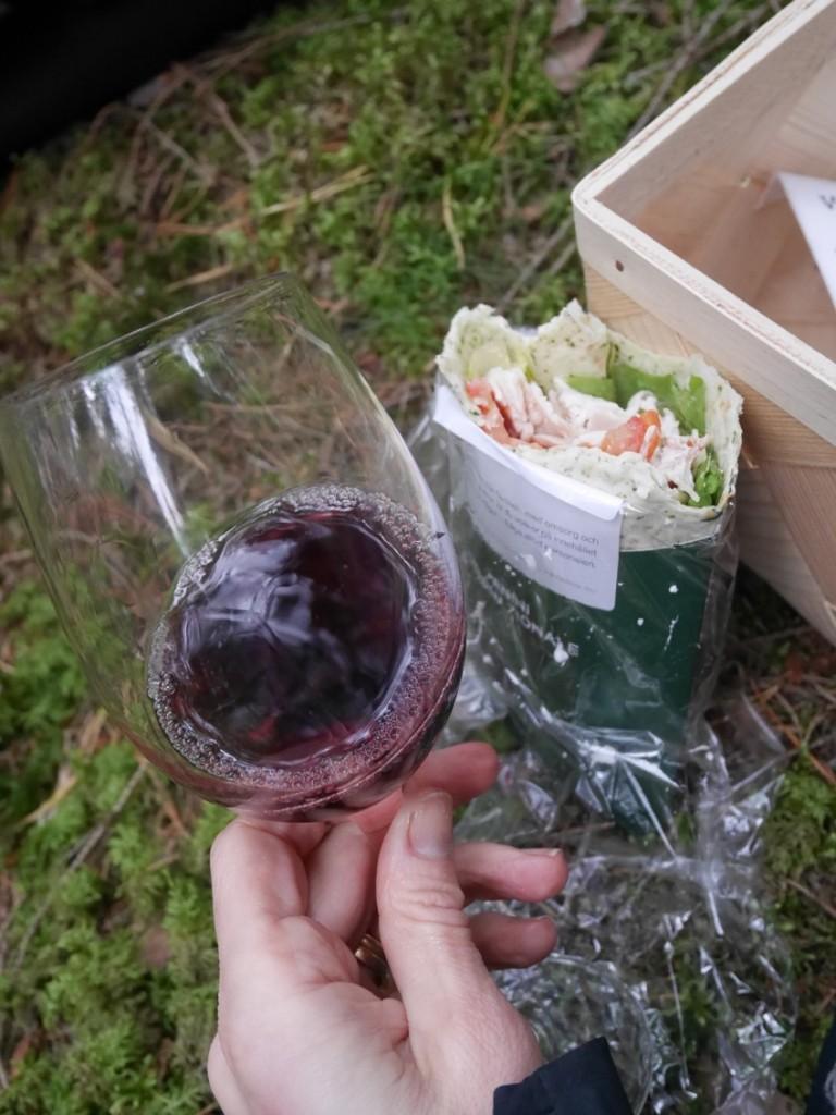 Vin och wraps - en vinnande kombo!