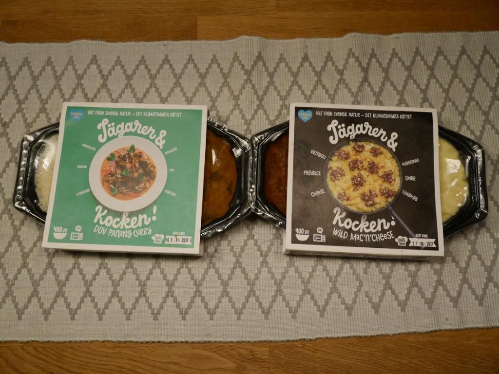 Färdiglagade maträtter från Jägaren & Kocken.