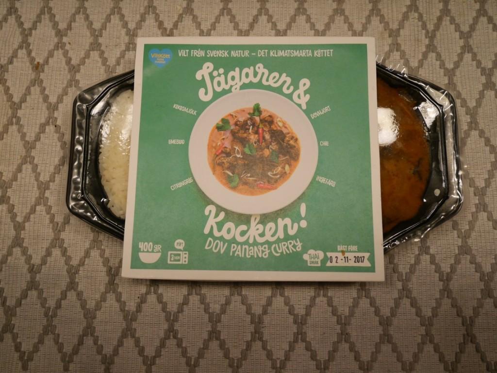 Dovhjort Panang curry