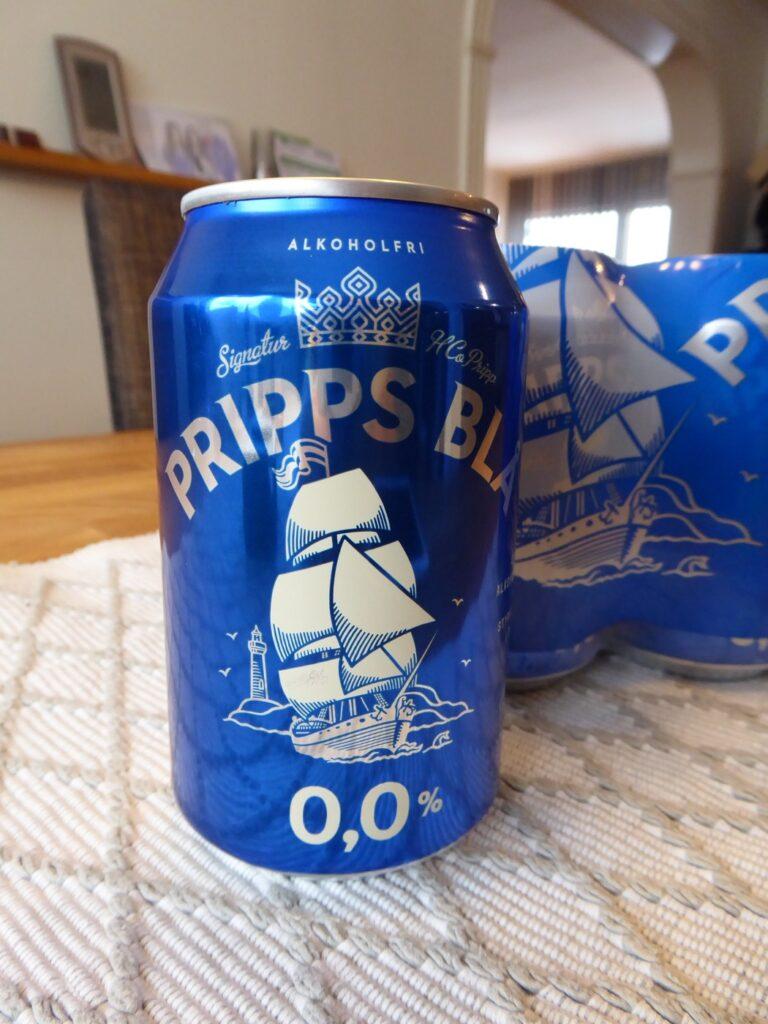 Alkoholfri Pripps Blå