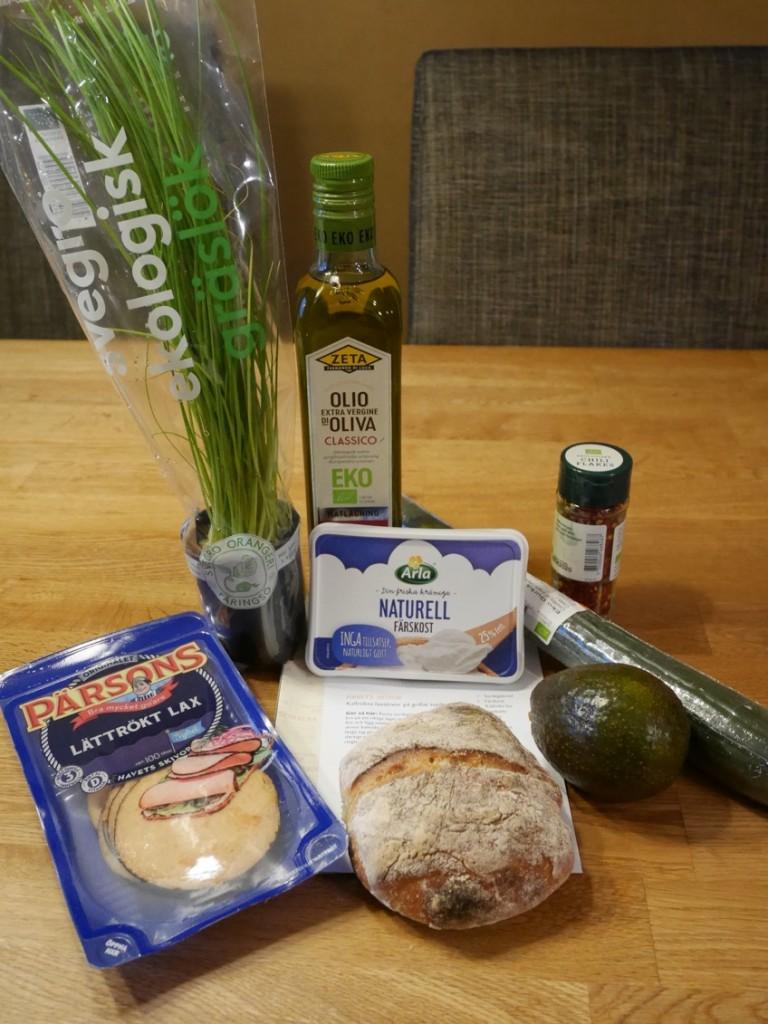 Ingredienser till att göra en smörgås i världsklass!