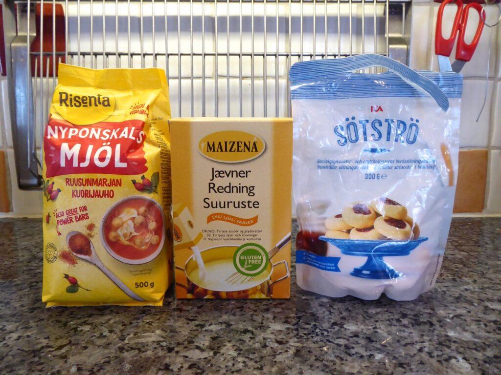 Nyponskalsmjöl finns att köpa i hälsokost eller i välsorterade livsmedelsaffärer.