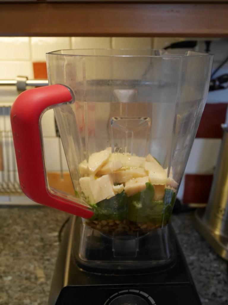 Ner med allt i mixern!