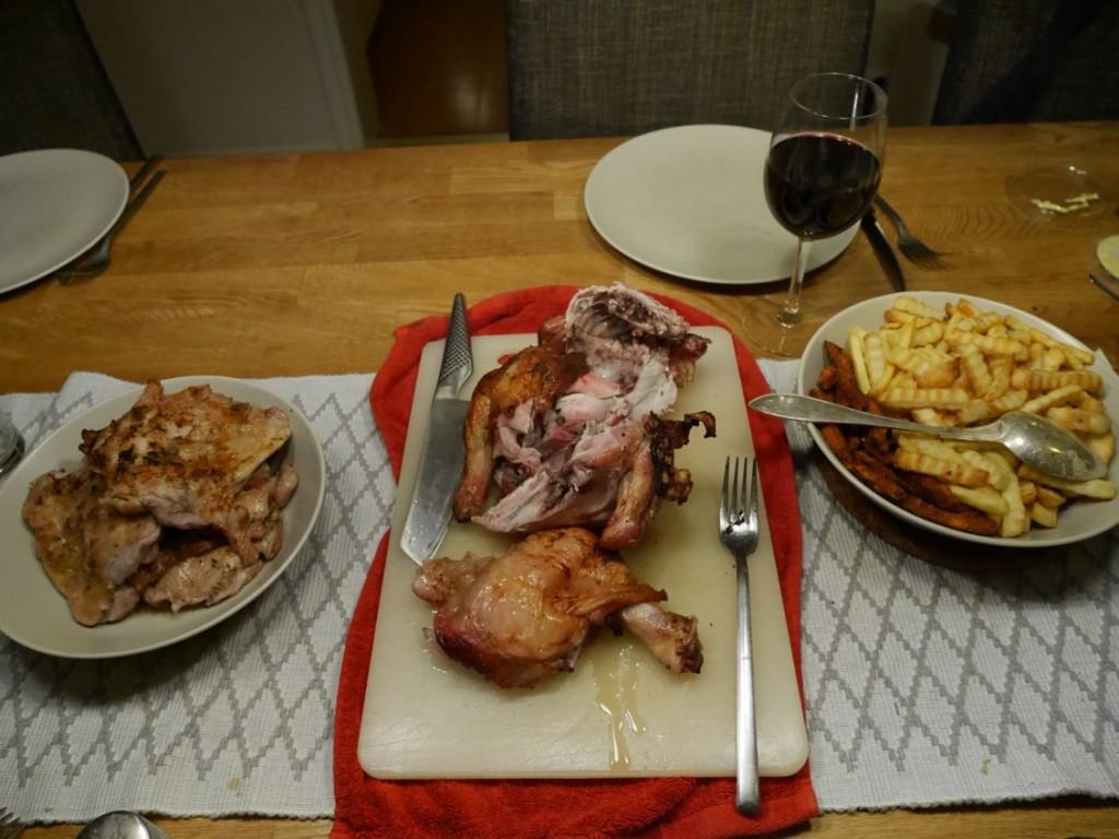 Dessa kycklingar slog kött med hästlängder!