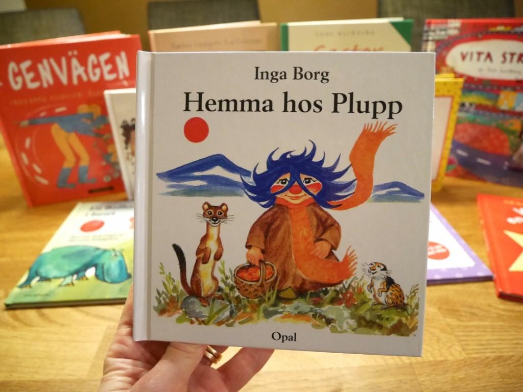 Någon annan än jag som läste Plupp som liten?