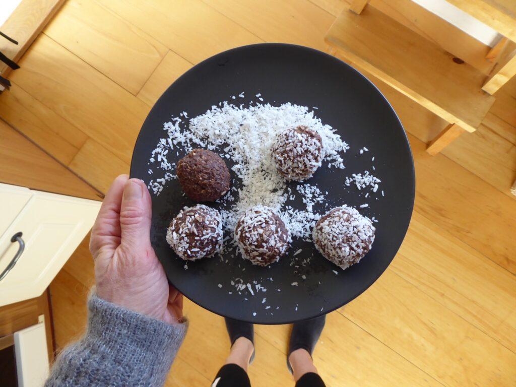 Nyttiga chokladbollar utan sötning