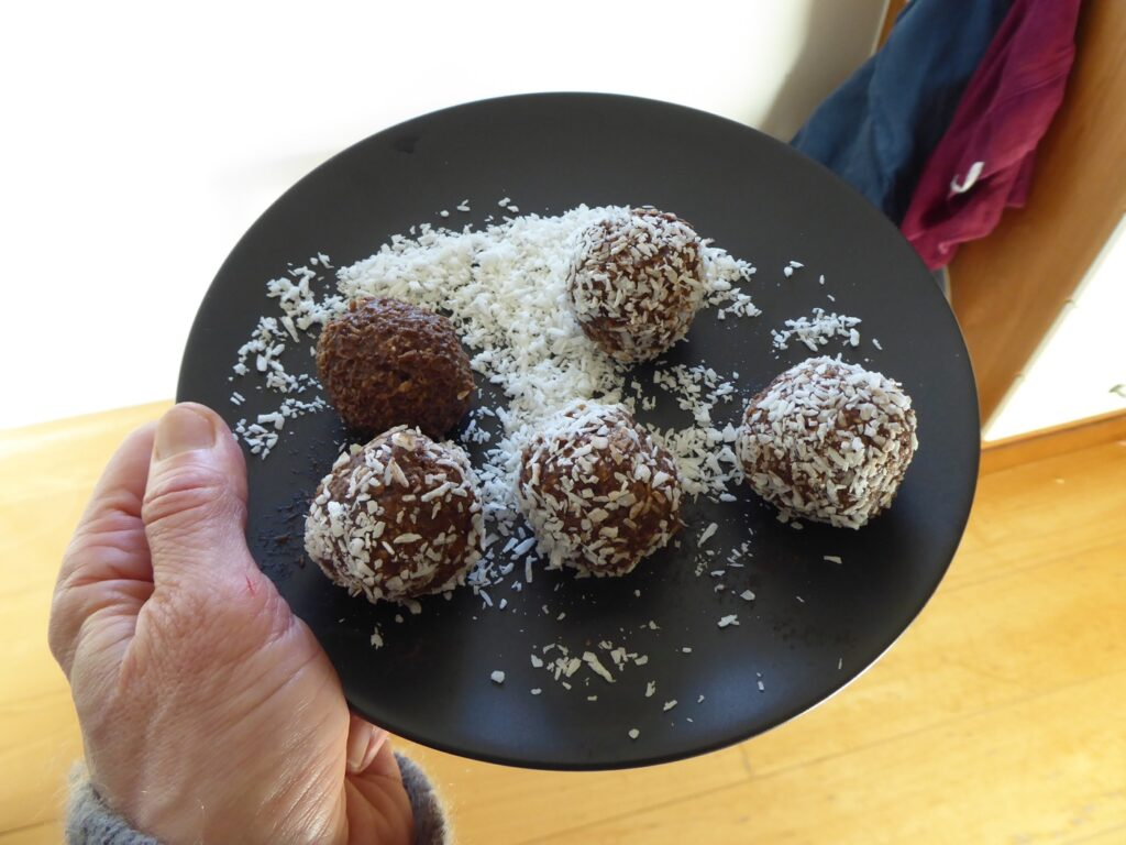 Tyngre chokladbollar!
