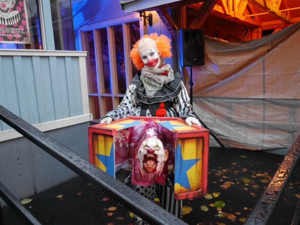 Illasinnad clown....