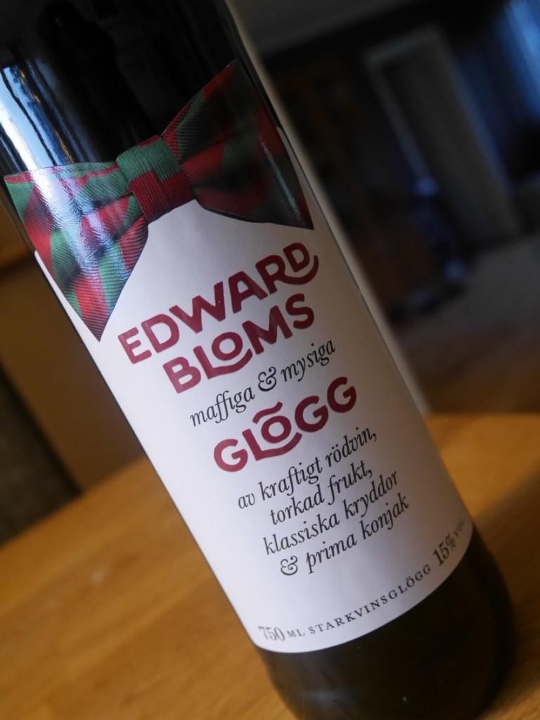 En etikett som helt matchar Edwards klädstil!