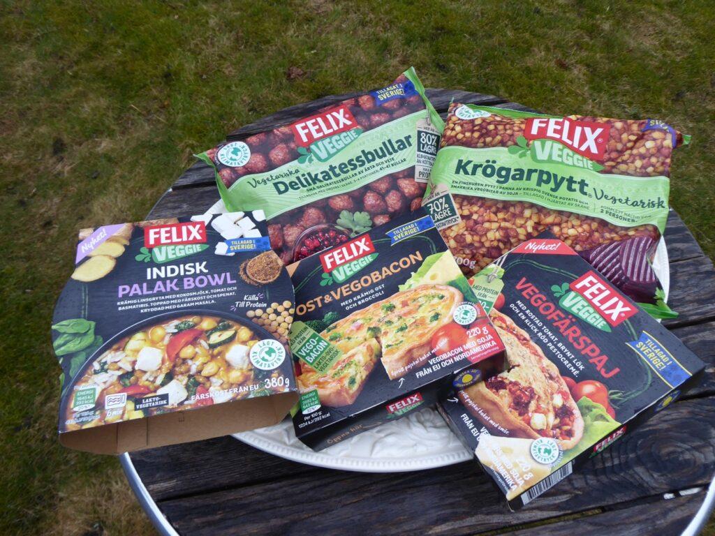 Det vegetariska utbudet bara växer och växer. Här är några av de senaste nyheterna från Felix.