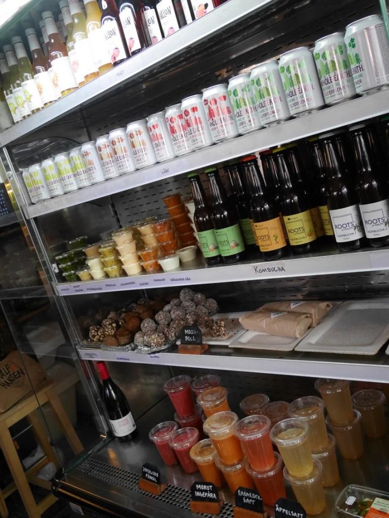 Missa inte den goda, ekologiska drycken och de fantastiska bakverken!