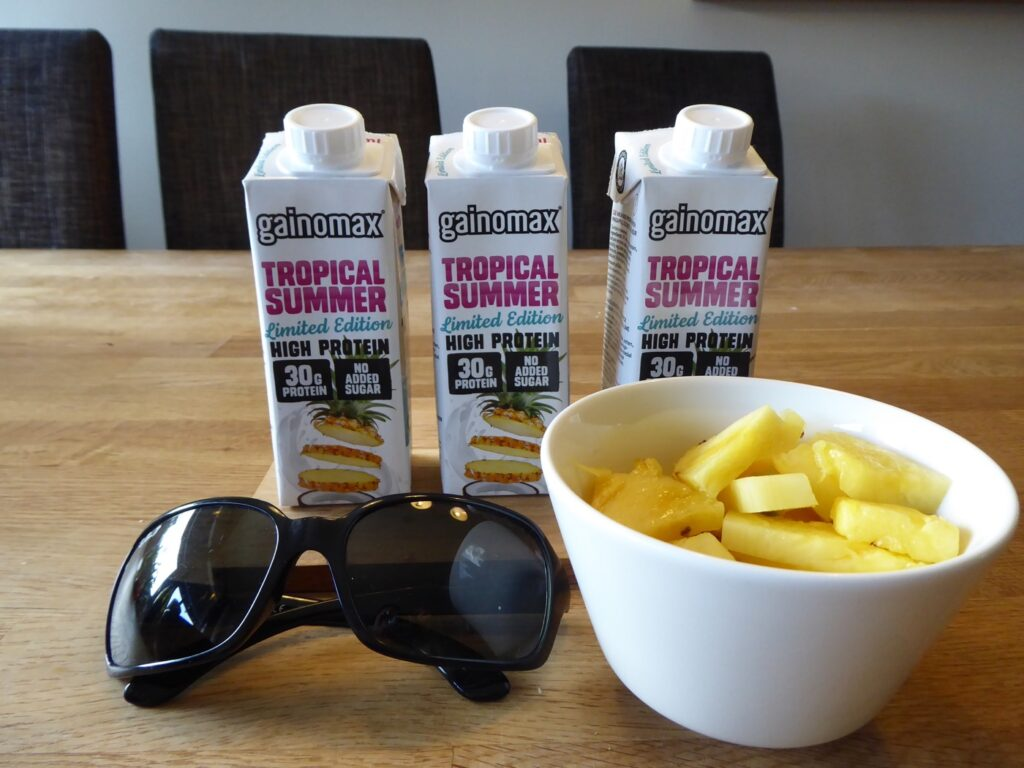 Tropical Summer proteindryck