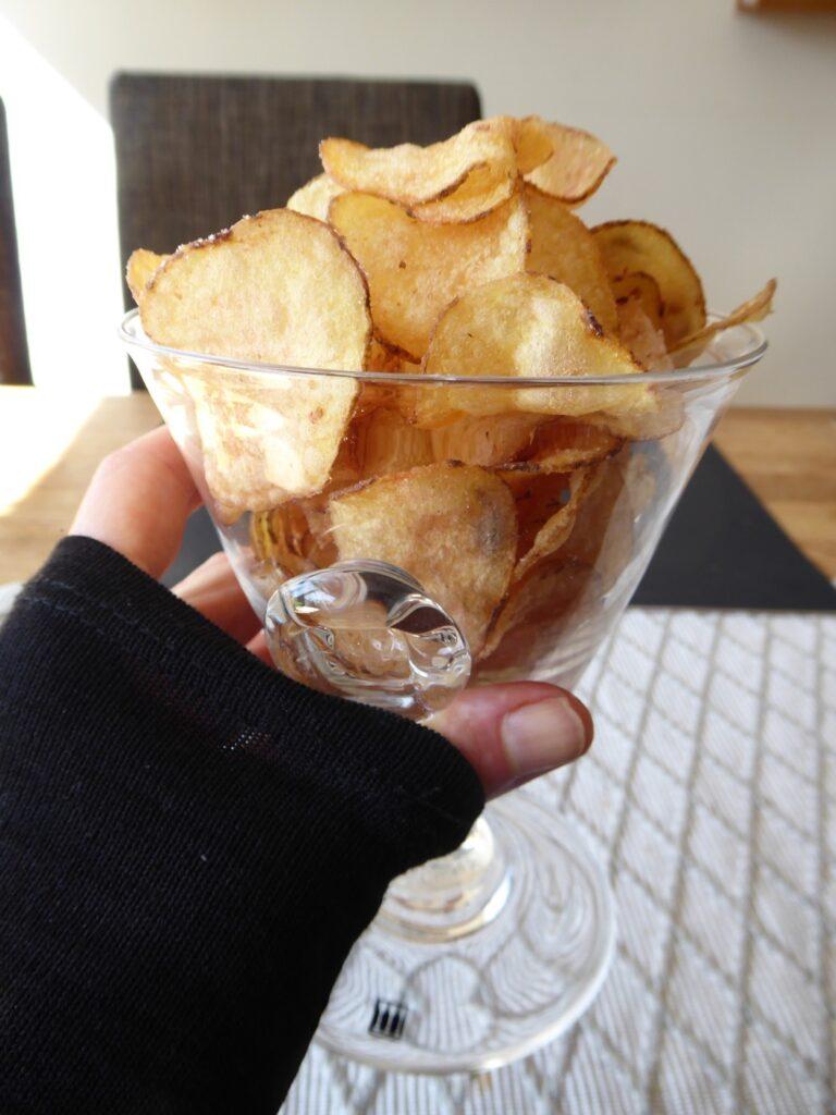 Nu kan vi skåla i chips!