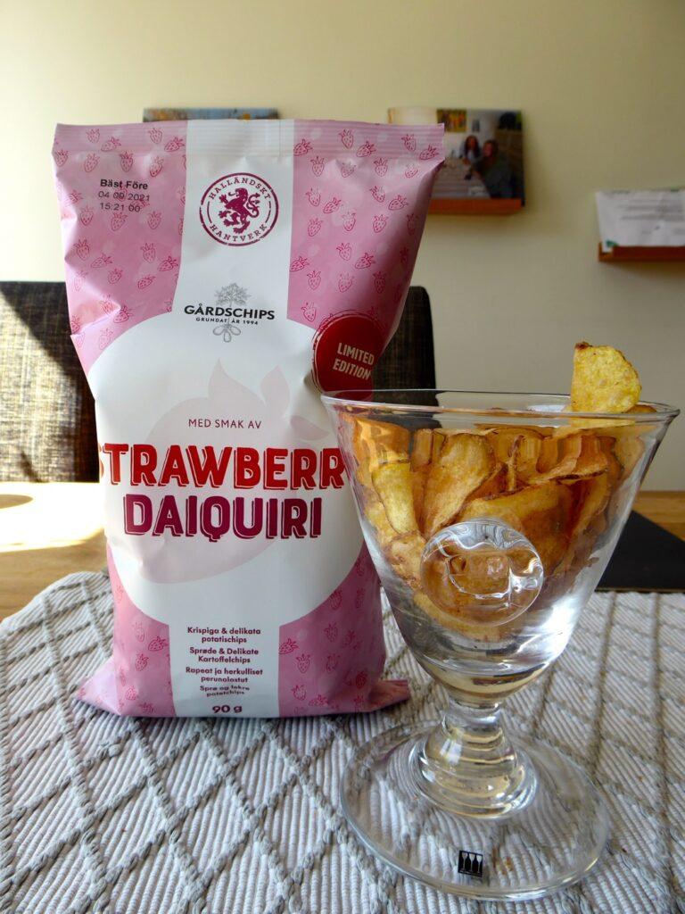 Hiss eller diss för chipsen Strawberry Daiquiri?!