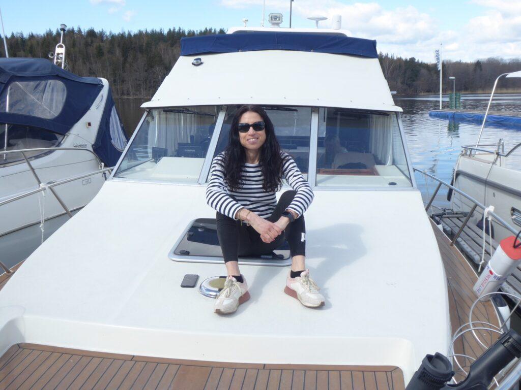 Premiärtur för båtsäsongen 2021