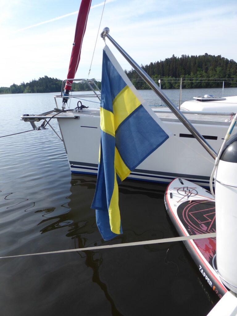 Sveriges nationaldag firades vi här!
