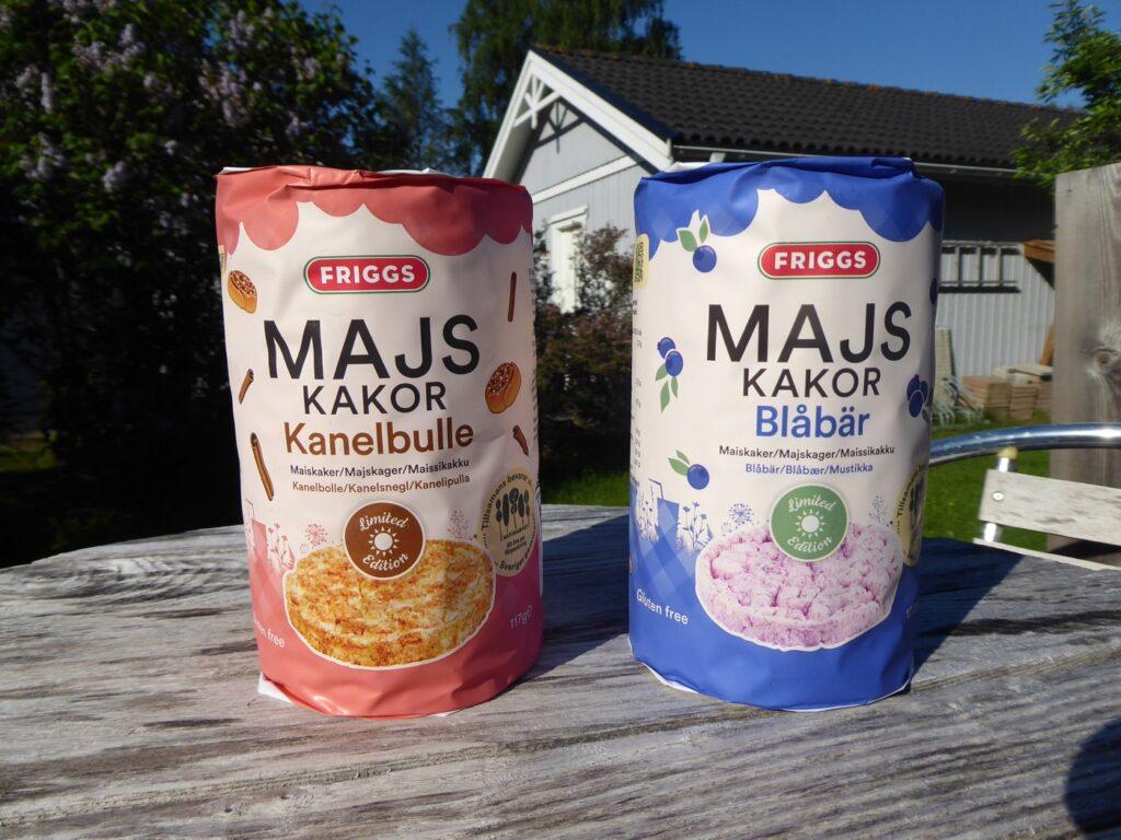 Majskakor Blåbär och Kanelbulle