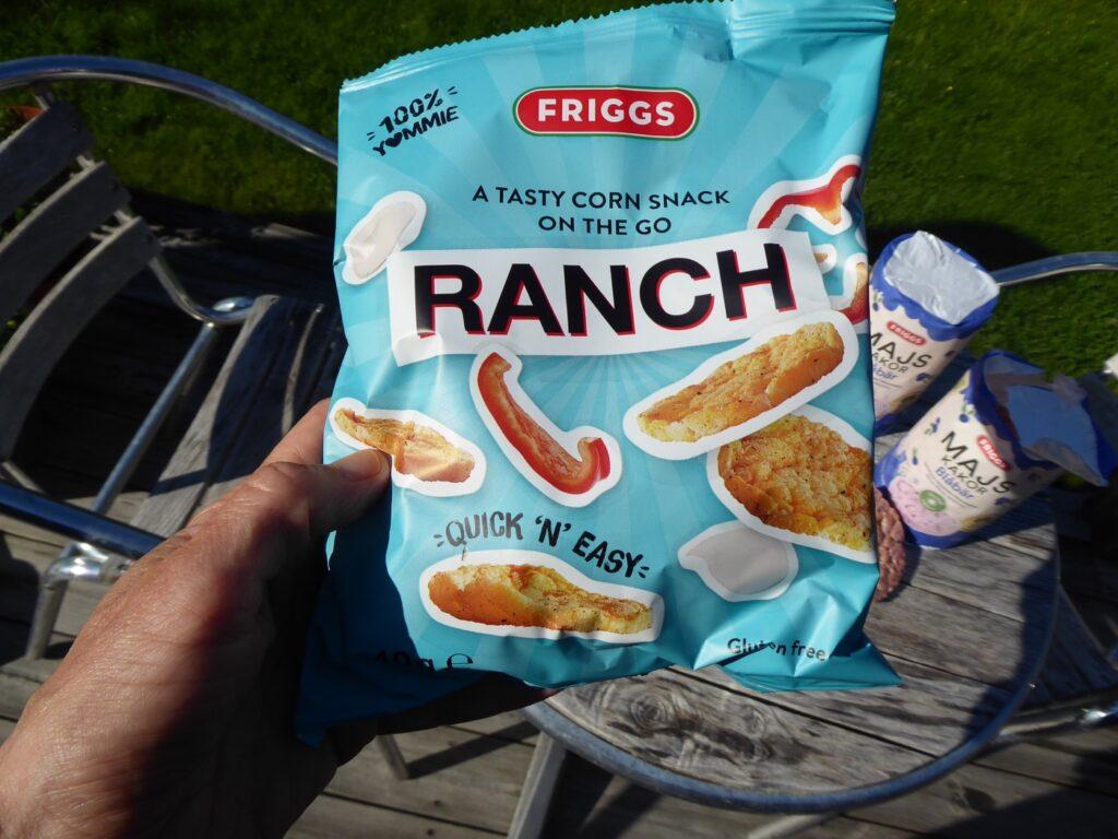 Nä, ska jag ha majskakor väljer jag hellre en påse minimajssnacks med smak av Ranch.