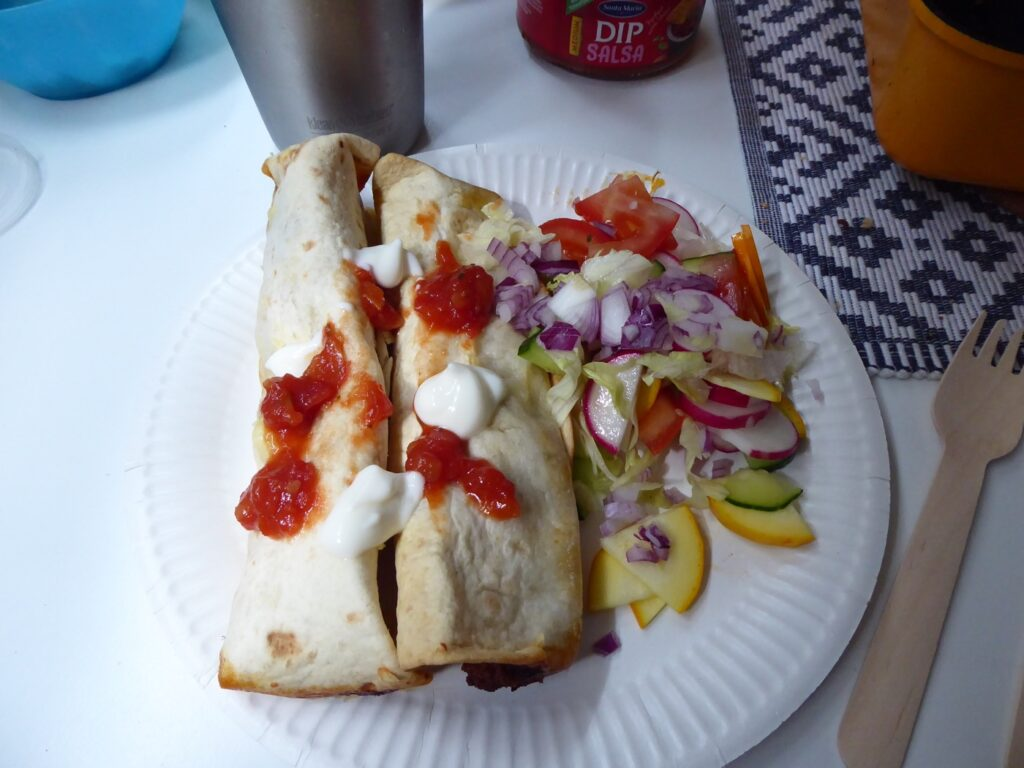Enchiladas.