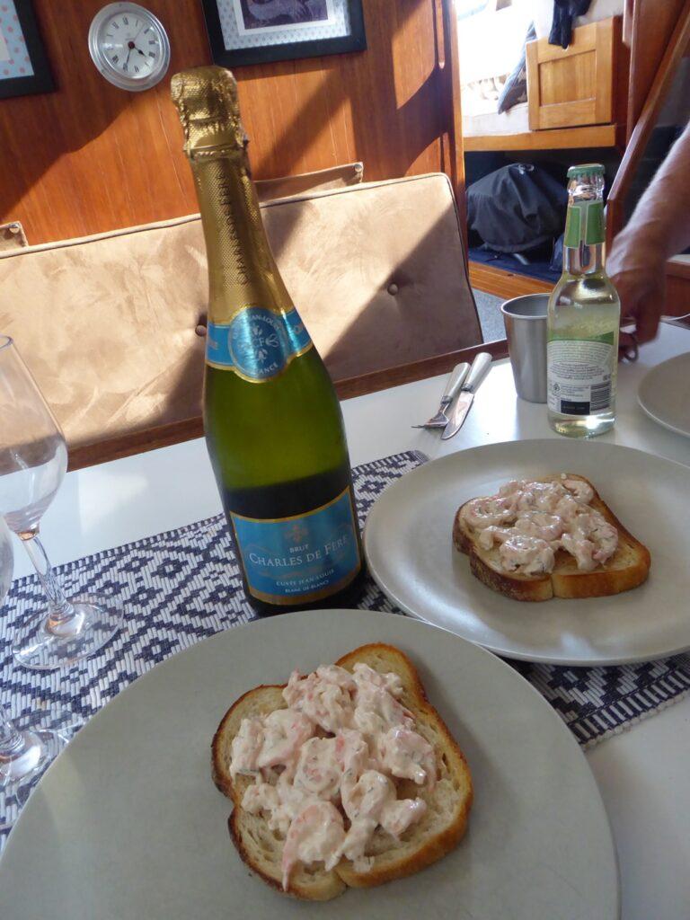 Toast Skagen.