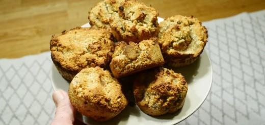 Glutenfria muffins utan tillsatt socker