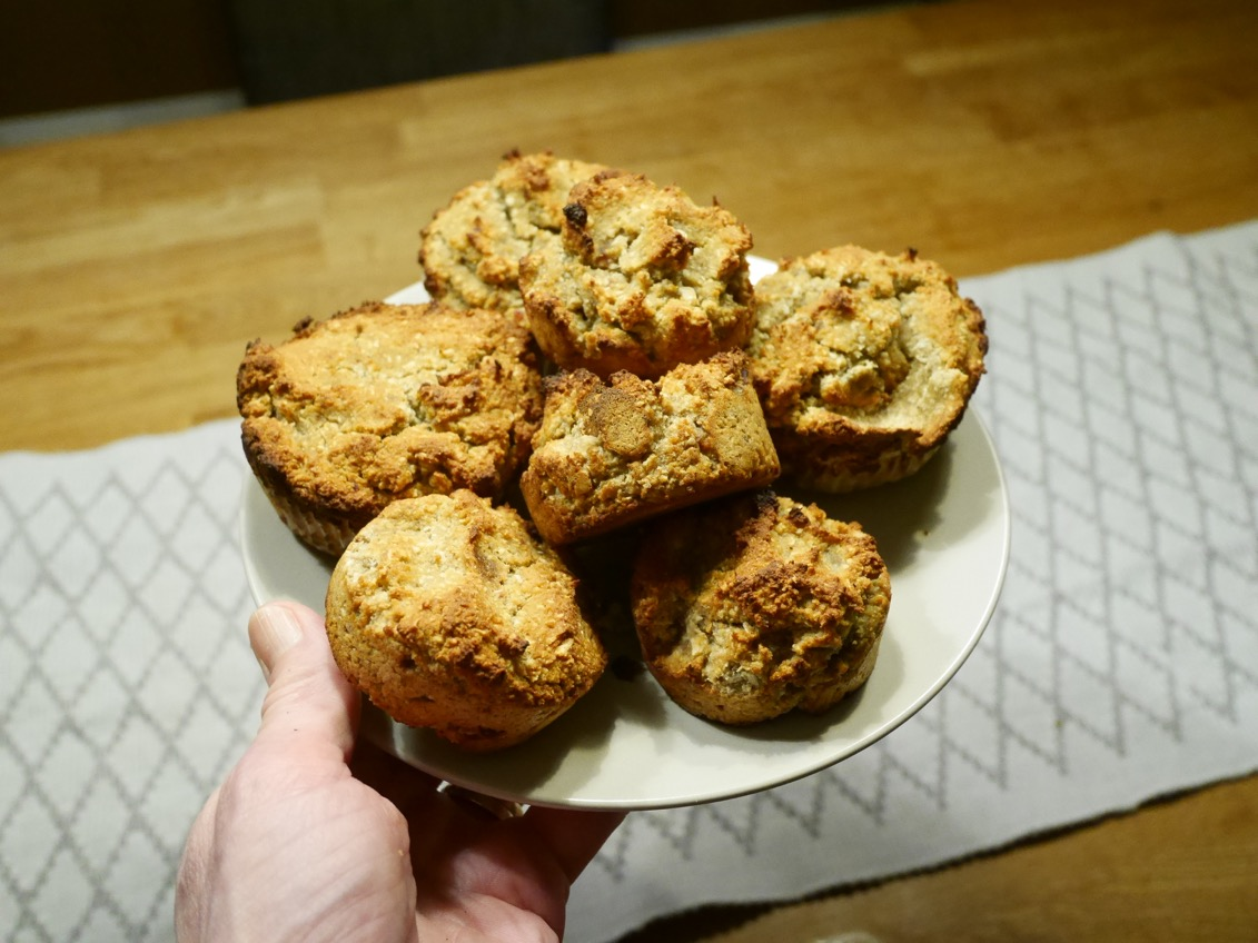 glutenfria muffins utan socker