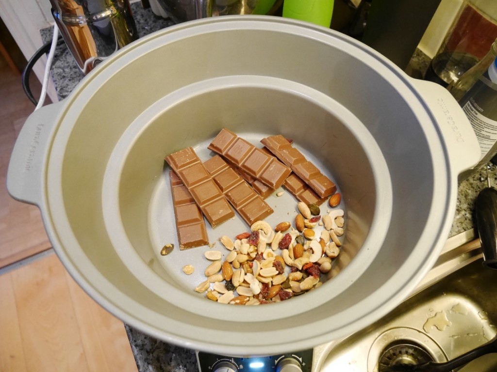 Tiden kan variera mellan Crock Pot och hur stor sats du gör. Ha koll då och då.