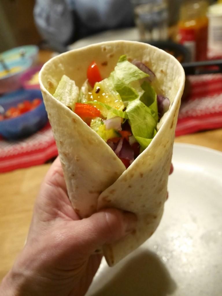 Tacos med kyckling