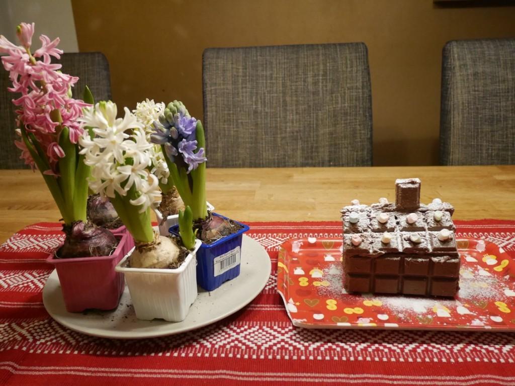 Chokladhus för tomtenissar.