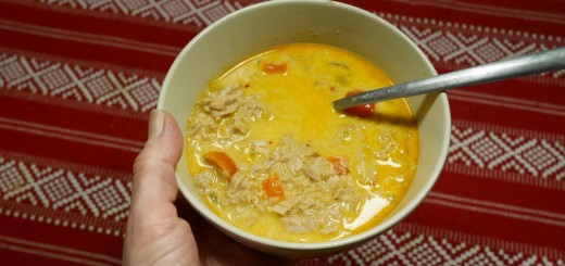 Thailändsk tonfiskgryta i Crock Pot.