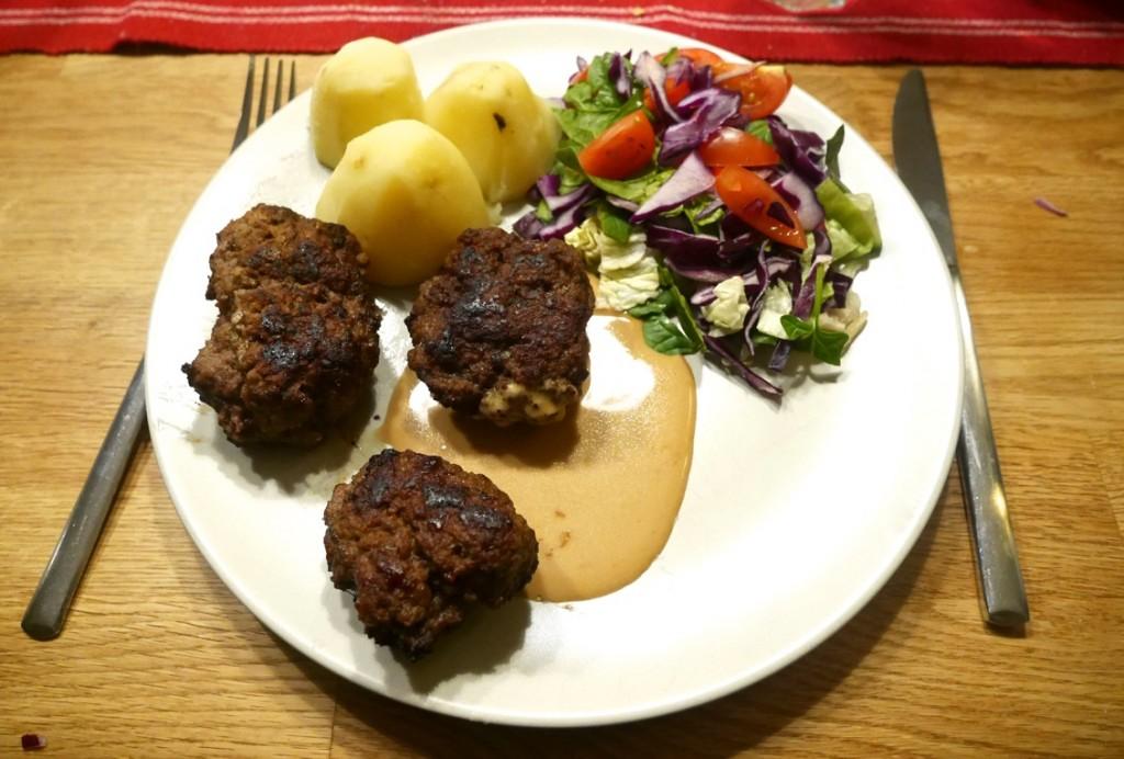 Världens godaste köttfärsbiffar