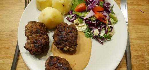Tänk att några biffar, sås och potatis kan smaka så gott!