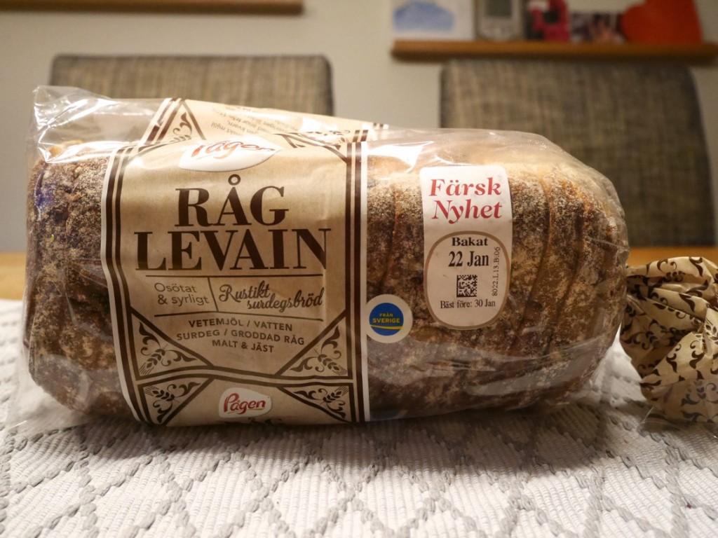 Nya surdegsbröd från Pågen, RågLevain