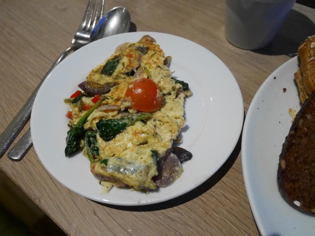 Den här omeletten var bland det bästa jag ätit i omelettväg.