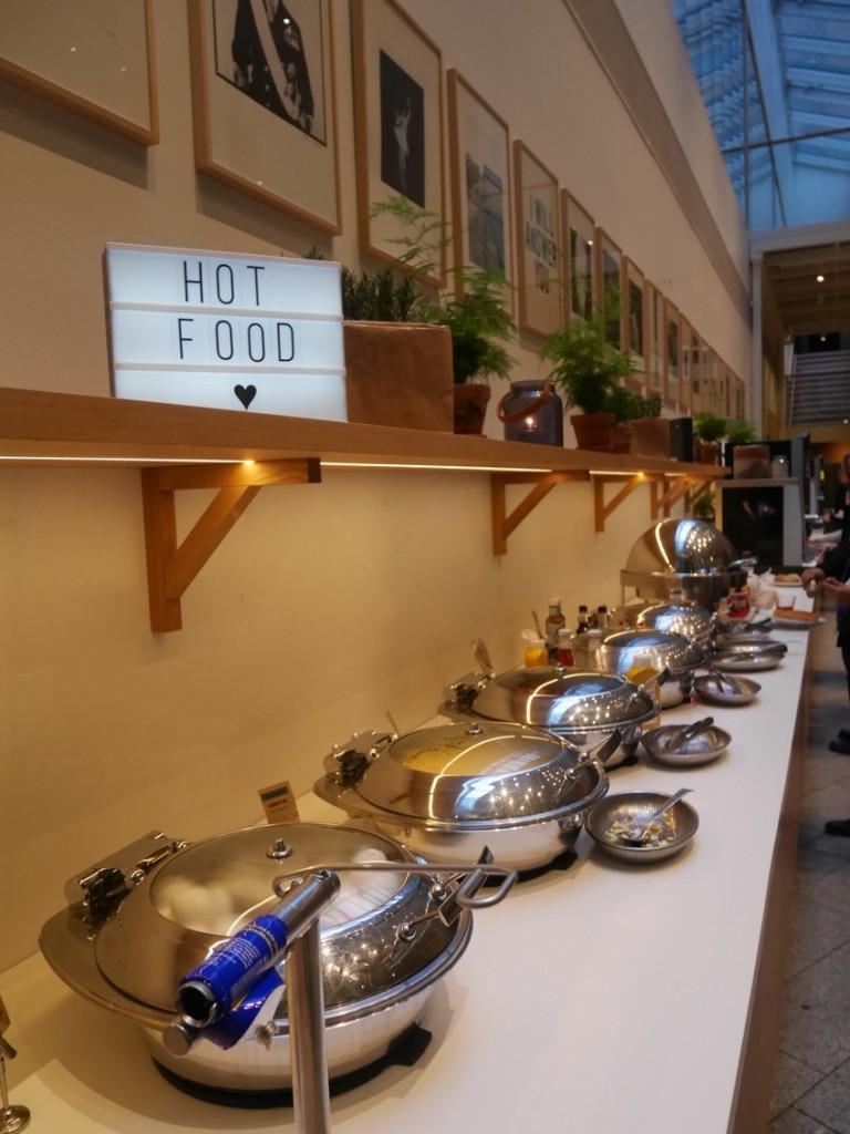 Mysig frukost på Clarion Sign