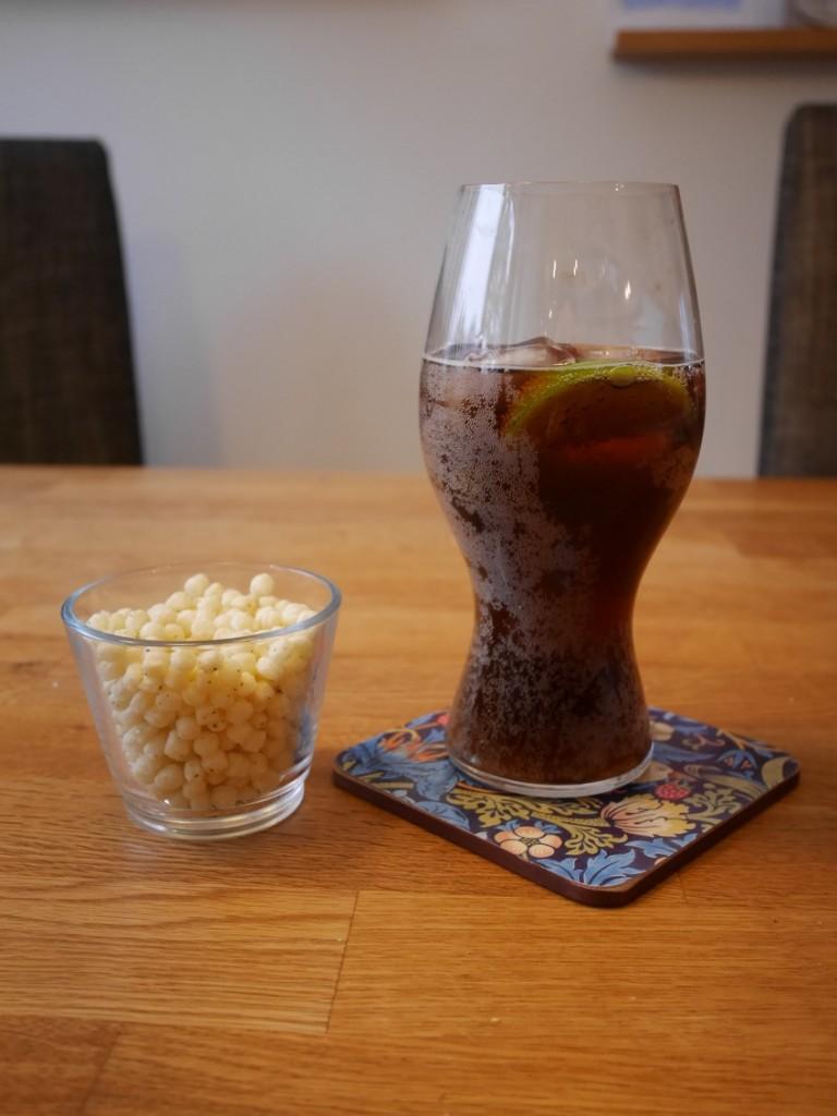 Karma cola sugerfree och nyttigt snacks från Snackbros