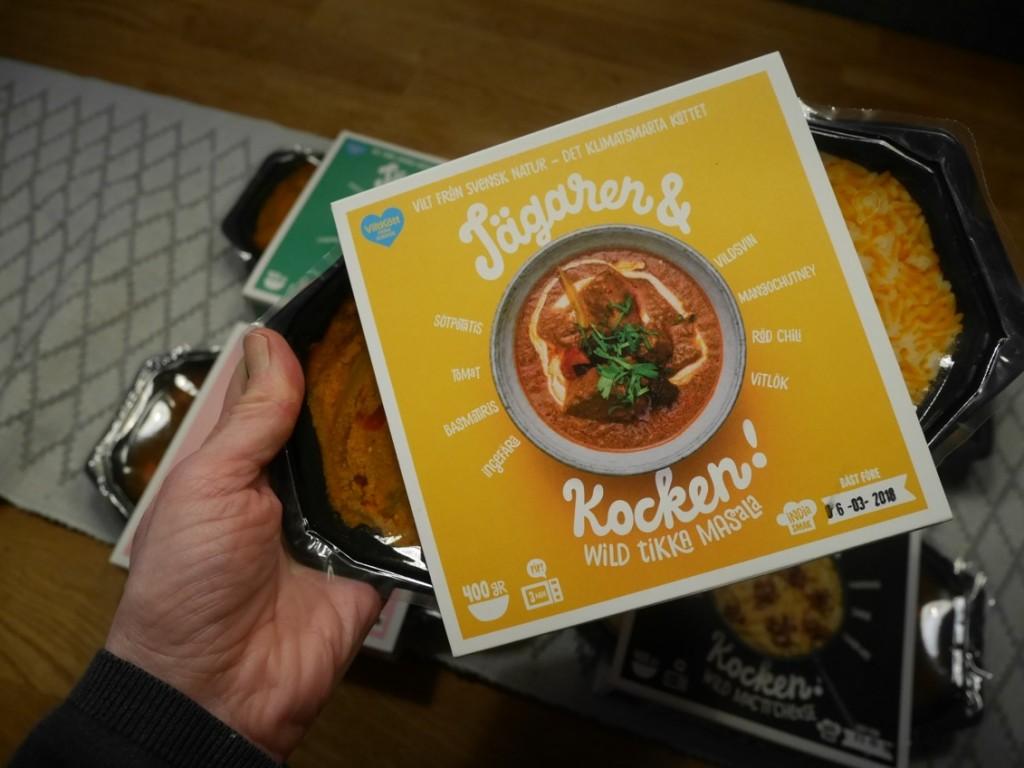 Wild tikka masala från Jägaren & Kocken